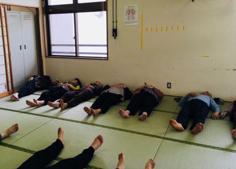 イメージ瞑想 ヨガ沖縄 高齢者