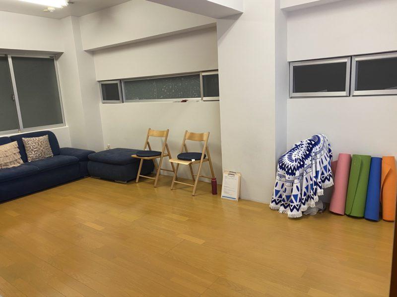姿勢の教室会場